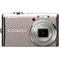 Nikon Coolpix S620 12.2MP Digital Camera with 4x Optical Vibration Reduction (VR) Zoom and 2.7 inch LCD (Rich Pearl) Overview Review Image