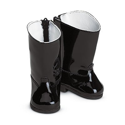 Authetic American Girl Black Riding Boots