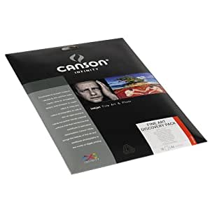 Canson infinity Discovery Pack Fine Art 200004876 - Papel fotográfico (A4, 10 hojas), color blanco