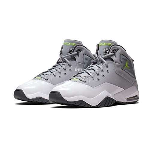 Jordan Men's B'LOYAL Basketball Shoes (10, Wolf Grey/Volt/White/Light Graphite) (Jordan 10 Shoes)