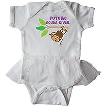 inktastic Future Scuba Diver Infant Tutu Bodysuit