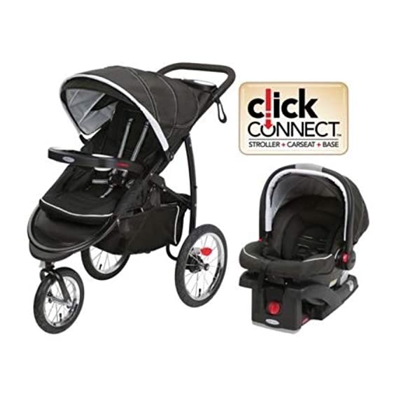 Graco FastAction Fold Jogger XT Travel System   Includes the FastAction Fold XT Jogging Stroller and SnugRide 35 Infant