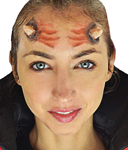 Woochie 3D FX Kit - Professional Quality Halloween Costume Makeup - Horns -