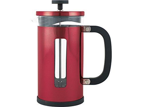 La Cafetiere 5164405 Pisa Metallic Red Coffee Maker with Scoop, 3 Cup