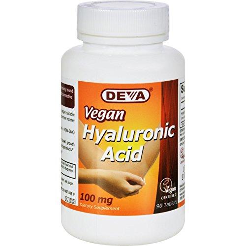 2Pack! Devan Vegan Vitamins Hyaluronic Acid - 100 mg - Vegan - 90 Tablets by Bone and Joint
