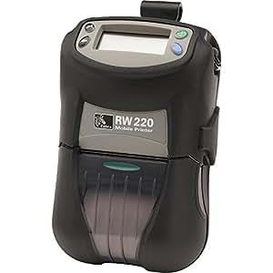 Zebra RW 220 Direct Thermal Printer - Monochrome - Portable - Receipt Print R2D-0UGA000N-00