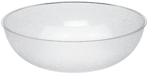 [Cambro (PSB18176) 20-1/5 qt Round Pebbled Bowl - Camwear®] (Polycarbonate Salad Bowl)