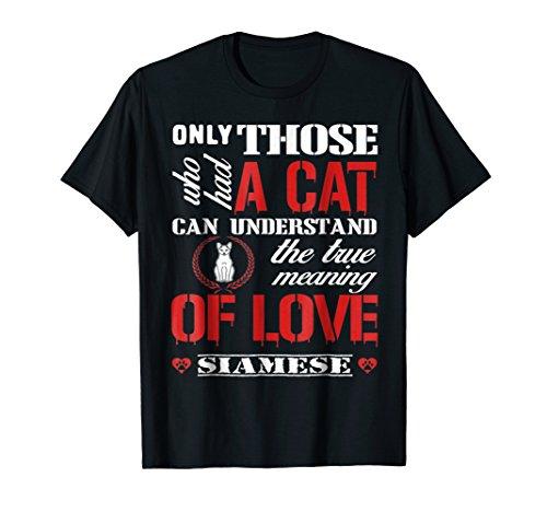 Siamese Cat Shirt For Men - Gap Red T-shirt