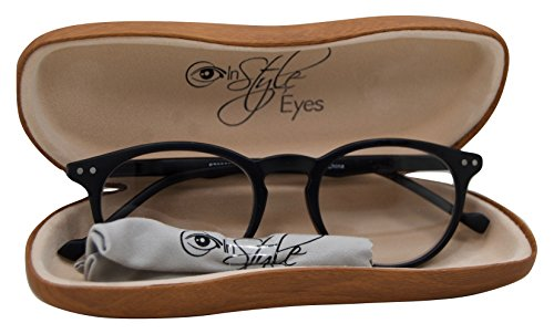 In Style Eyes Flexible Readers, Super Comfortable Lightweight Reading Glasses/Black +1.00