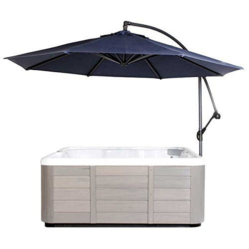 Cover Valet 705554678551 Spa Side Umbrella, Navy (Cover Valet Spa)