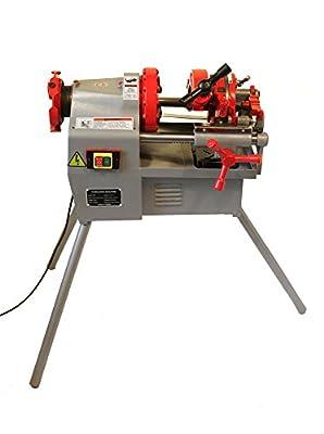 "Electric Pipe Threader Machine (1/2"" - 2"") Threading, Cutter, Deburrer, NPT P50"