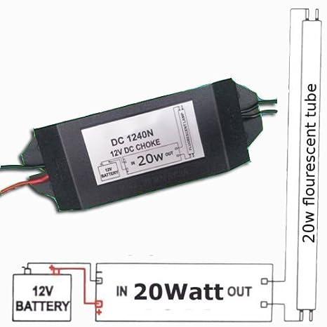 CF 12v DC Fluorescent Light Ballast Choke Solar Energy Power