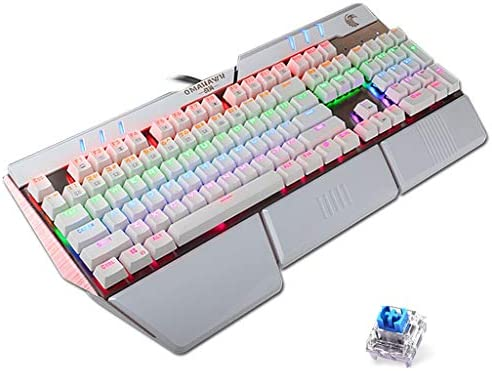 LIUFENGLONG Illuminated Gaming Keyboard Wired Laptop USB Mechanical Feel Keyboard Professional Gaming Keyboard
