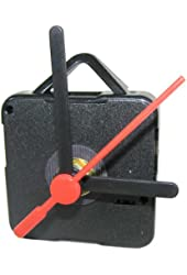 BATTERY OPERATED CLOCK MOVEMENT WITH HANDS