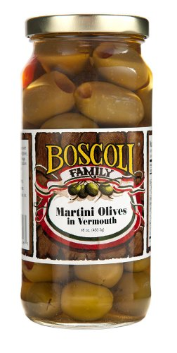Martini Stuffed Olives (Green Olives Pimento)