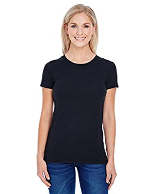Threadfast Apparel Women's Slub Jersey Short-Sleeve T-Shirt