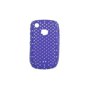 Mooster 8435353727663 - Carcasa puntos blackberry/8520 purpura
