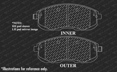 Nissan 2009-2014 Cube 2007-2012 Versa /& Sentra Max Brakes Front Performance Brake Kit Premium Cross Drilled Rotors + Ceramic Pads KT041621 Fits