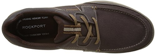 Rockport Randle Moc Toe, Basse Uomo Marrone (Choco)