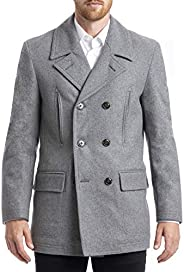 CHAPS Mens All-American Authentic Style Peacoat Pea Coat