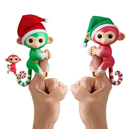 Fingerlings Christmas Holiday 2 Pack - Holly, Jolly, & Merry