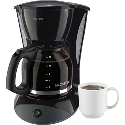 ITEM#749171 Mr Coffee 12 Cup Coffeemaker Black With Glass Carafe by Mr. Coffee