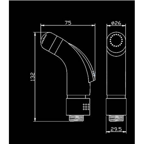 Toilet gun/Bidet bidet/Shower head/Flusher/Bidet-A 70%OFF