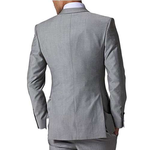 Love Dress Men's New Casual Slim Fit Vest Business Suits Three-piece L by Love To Dress (Image #3)