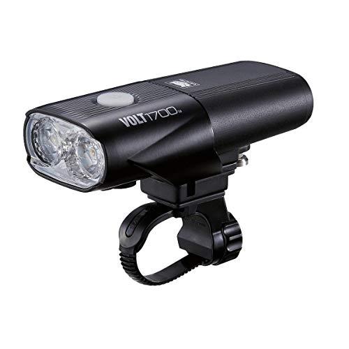 Cateye Black Volt 1700 Rc Rech 1700 Lm Front Road Bike Light (Default, Black)