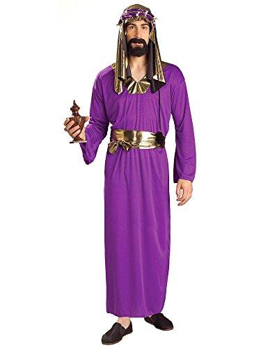 Forum Novelties Men's Biblical Times Wise Man Costume, Purple, One (Purple Wise Man Costumes)