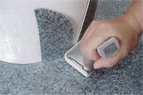 Hanchen Plastic Cutter, PVC Floor Protector/Runner Film Wall Edge Cutting Tool Trimming Machine