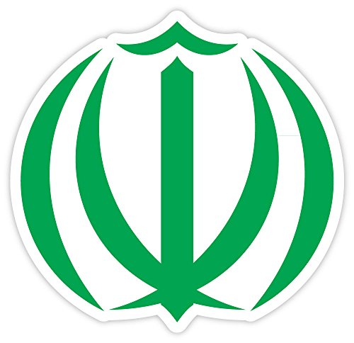 Iran coat of arms sticker decal 4