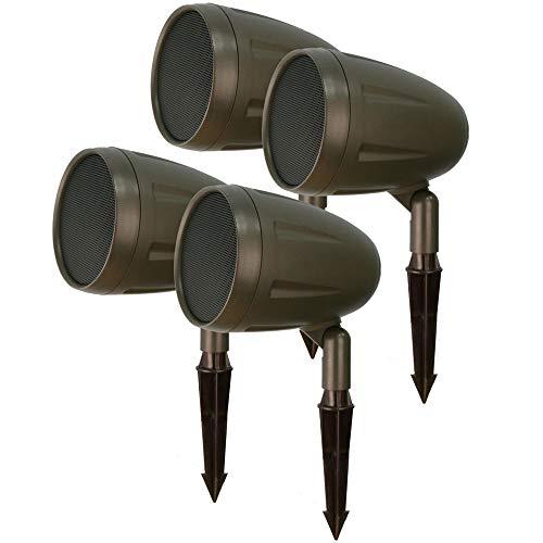 Outdoor Landscape Speakers by AVX Audio (4 Speakers)