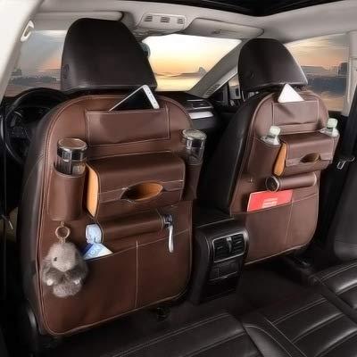 Lpfkkk Car storage bag, Car organizer Car accessories Bags seats, bags for children, ordinary models [brown]: