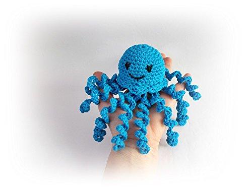 Octopus jellyfish Crochet octopus (Rattle God)