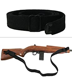 Ultimate Arms Gear M1 M-1 Carbine Military Mil Spec Quality Classic WWII Reproduction Black Canvas 1.00\