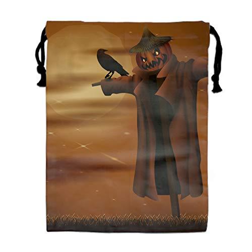 Halloween Night Unisex Drawstring Gym Sack Sport Bag