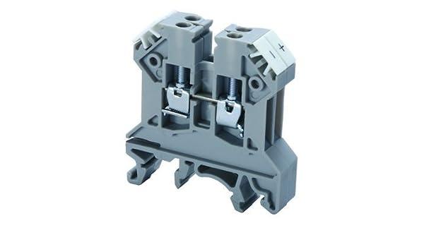 Gray 24-12 AWG J Type Thermocouple Terminal Block