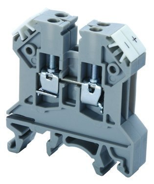 "Terminal Block, ""J"" Type Thermocouple, 24-12 AWG, Gray"