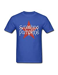 MooWell Smashing Pumpkins Men's T-Shirts XX-Large