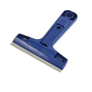 uxcell® Plastic Handle Wall Floor Paint Decal Remover Scraper Dark Blue