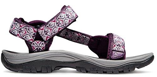 ATIKA AT-W111-MGT_Women 7 B(F) Women's Maya Trail Outdoor Water Shoes Sport Sandals W111 by ATIKA (Image #9)