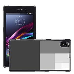 Super Stellar Slim PC Hard Case Cover Skin Armor Shell Protection // M00049019 vector art aero gray // Sony Xperia Z1 L39H