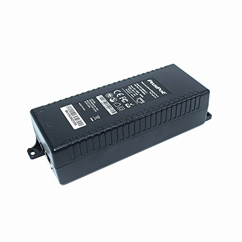 PLUSPOE Gigabit Power over Ethernet Plus (PoE+) Injector, Converts non-PoE Gigabit to PoE+ or PoE Gigabit, 35Watts, Network Distances up to 100 M (328 Ft.) (Gigabit PoE+ / 35W) by PLUSPOE (Image #4)'