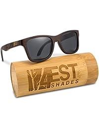 Bamboo Wood Sunglasses -Polarized handmade wooden shades...