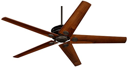 "60"" Casa Venue Oil-Brushed Bronze Damp Ceiling Fan"