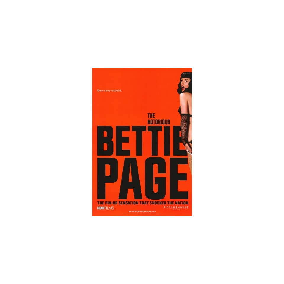 The Notorious Bettie Page   Movie Poster   11 x 17