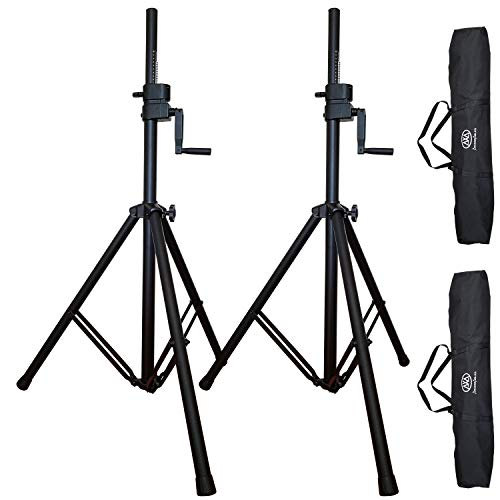 (AxcessAbles SMX-266 Tripod Crank-up Speaker Stand (Pair))