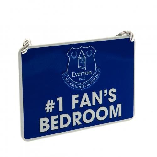 Official Everton FC Bedroom Sign #1 (1 Fan Sign)
