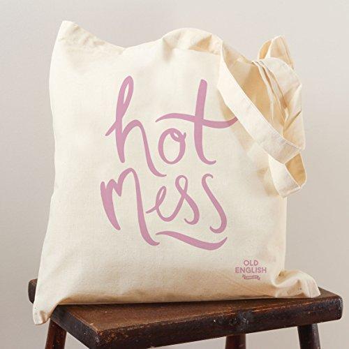 Hot Mess-Borsa da shopping, decorata con borsa fashion-Borsa fashion in tela, borsa a tracolla, borsa da palestra, Spiaggia, Vacanza, borsa regalo